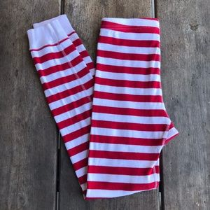 Hanna Andersson Candy Cane Stripe Red White 140 10